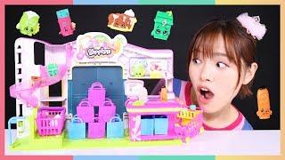 凱利的Shopkins購物小能手之嫦娥來買貨玩具遊戲   凱利和玩具朋友們   凱利TV