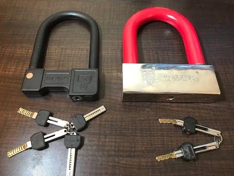 [66] Awesome Chain Key U-Locks: Dimple Lock Chain + GIANT 7-pounder!