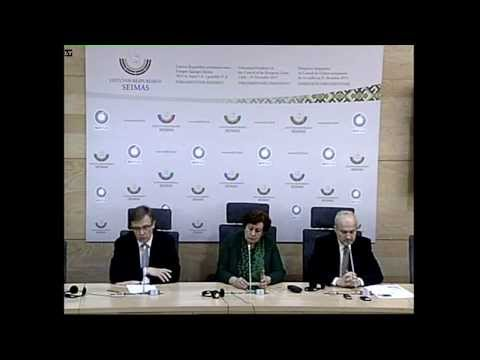 (Alkas.lt, lrs.lt) Spaudos konferencija: Valdžia privalo gerbti konstitucines piliečių teises