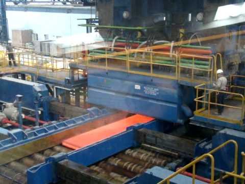 Jindal Steel And Power Limited-Angul, India_Plate Mill_First Hot Plate_11122011.MPG