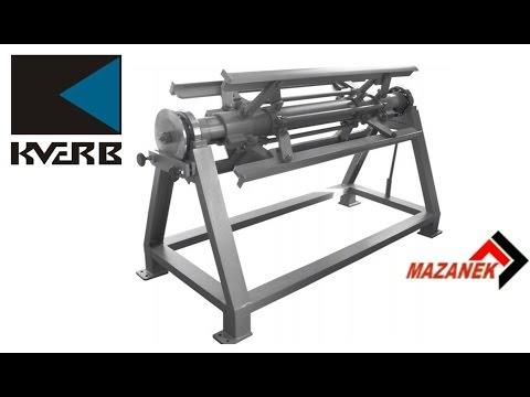 видео: Разматыватель металла (бухторазматыватель) mazanek rr – 1250