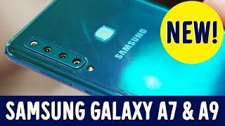 Førsteinntrykk: Samsung Galaxy A7 & A9