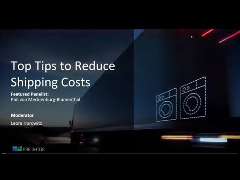 5 Ways to Reduce Your International Shipping Costs
