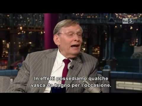Bud Selig - Letterman - 15 07 2013 - Sub Ita (Rai5)