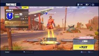 Fortnite Battle royal:Secret battlestar/Getting the Sun Strider-Branntro123