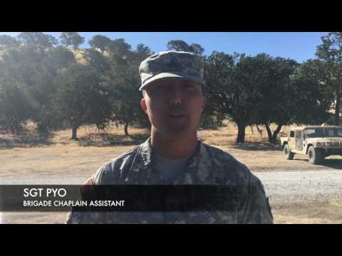 Why a Chaplain in the US Army?