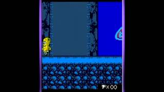 SpongeBob SquarePants: Legend of the Lost Spatula Gameplay Part 2/2 (GBC, 2001)