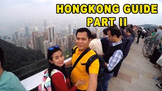 HONGKON GUIDE PART 2 ( in 5 days)