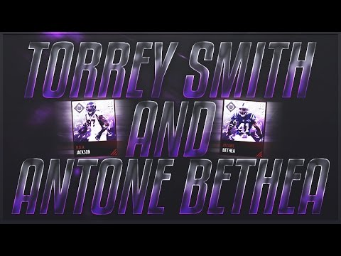 TORREY SMITH + ANTOINE BETHEA REVIEW! 2 CHAMPIONS PLAYERS! MADDEN MOBILE 17 GAMEPLAY