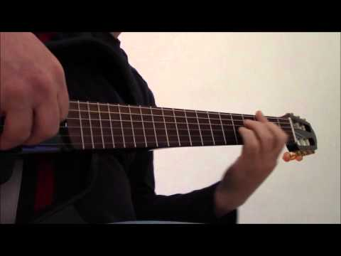 I Will - Beatles fingerstyle guitar solo with free TAB
