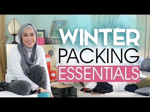 Travel Packing Tips - Winter Essentials | LISA NAMURI (Bahasa Indonesia)