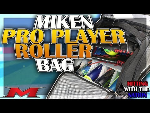Miken Pro Player Roller Bag Review 2018- Hitting With The Nation- ASP LIVE