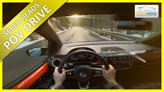 POV Drive - VW up GTI (115 PS) - Onboard Test Drive (pure driving)