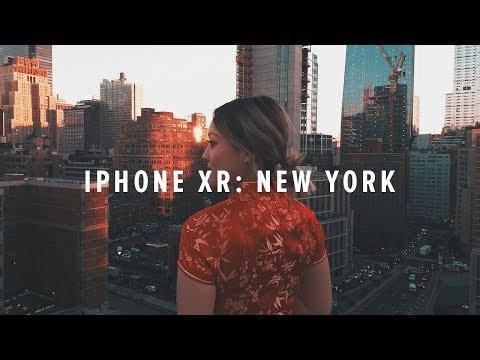 IPhone XR Cinematic 4k: New York City