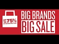 Brand sale | heavy discount | time to more shopping