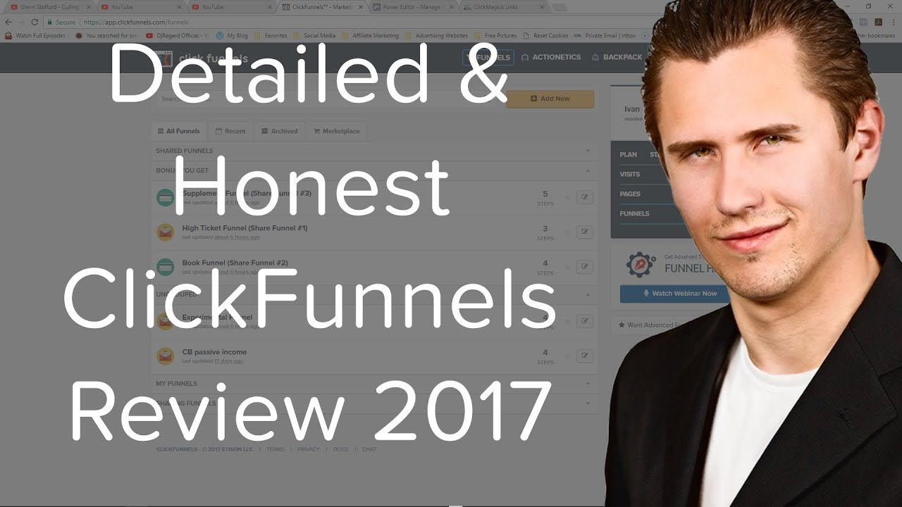 Detailed & Honest ClickFunnels Review 2017 - Pros & Cons