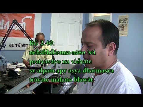 ISKCON Scarborough- Live Tamil radio program- Profit with no loss