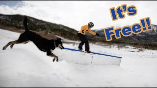 Snowboarding Frisco's Free Hike Park - (Season 3, Day 132)