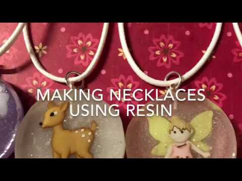 Making Resin charms tutorial