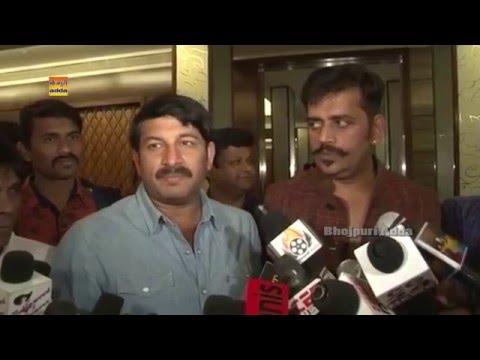 Ravi Kishan & Manoj Tiwari Bhojpuri Super Star FULL Speech Exclusive Interview Bhojpuri Adda