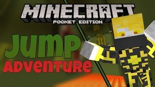 [MCPE] - I'VE GONE MAD!!! - Jump Adventure [3]