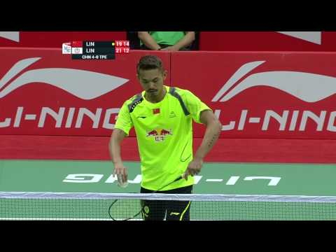 [HD] GS - CHN vs TWN - MS3 - LIN Dan vs LIN Yu Hsien - 2014 Thomas Cup