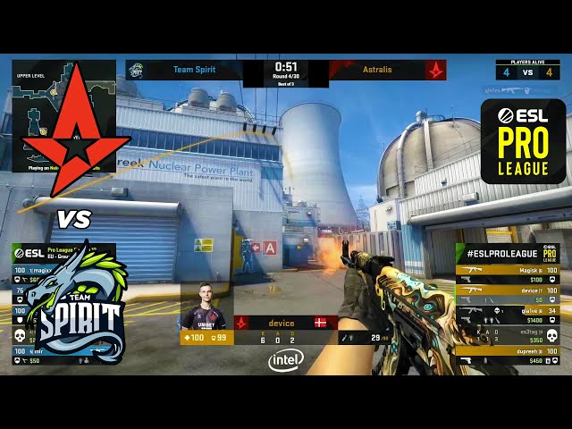 Astralis vs Spirit - ESL Pro League - HIGHLIGHTS l CSGO