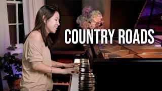 Take Me Home, Country Roads (John Denver) Piano Cover by Sangah Noona видео