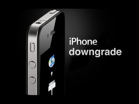 How to Downgrade Your iPhone 4 From iOS 6.x to iOS 5.x (Windows)