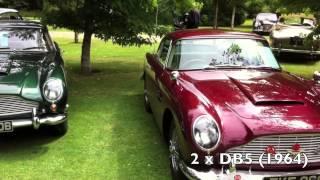 Aston Martin Timeline at Wilton