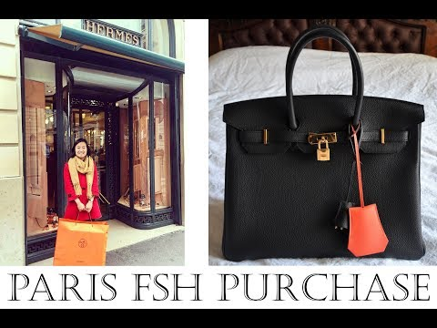 Tips for How to buy Hermes Birkin bag in Paris! Story of Hermes Birkin Paris shopping experience