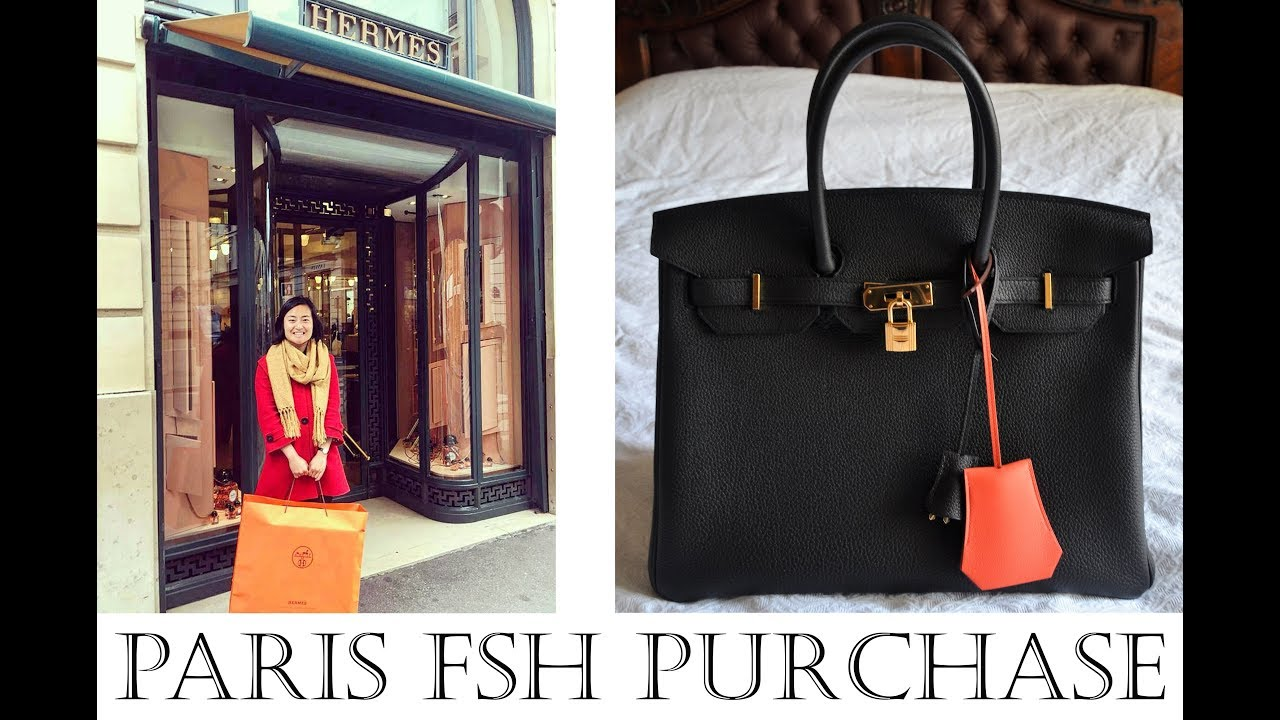 06231eaf7f6a Tips for How to buy Hermes Birkin bag in Paris! Story of Hermes Birkin  Paris shopping experience