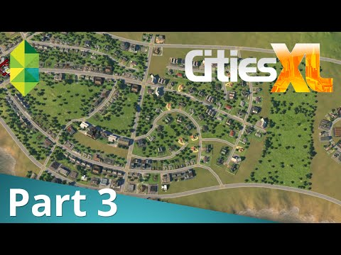 Let's Play Cities XL - Livestream Part 3