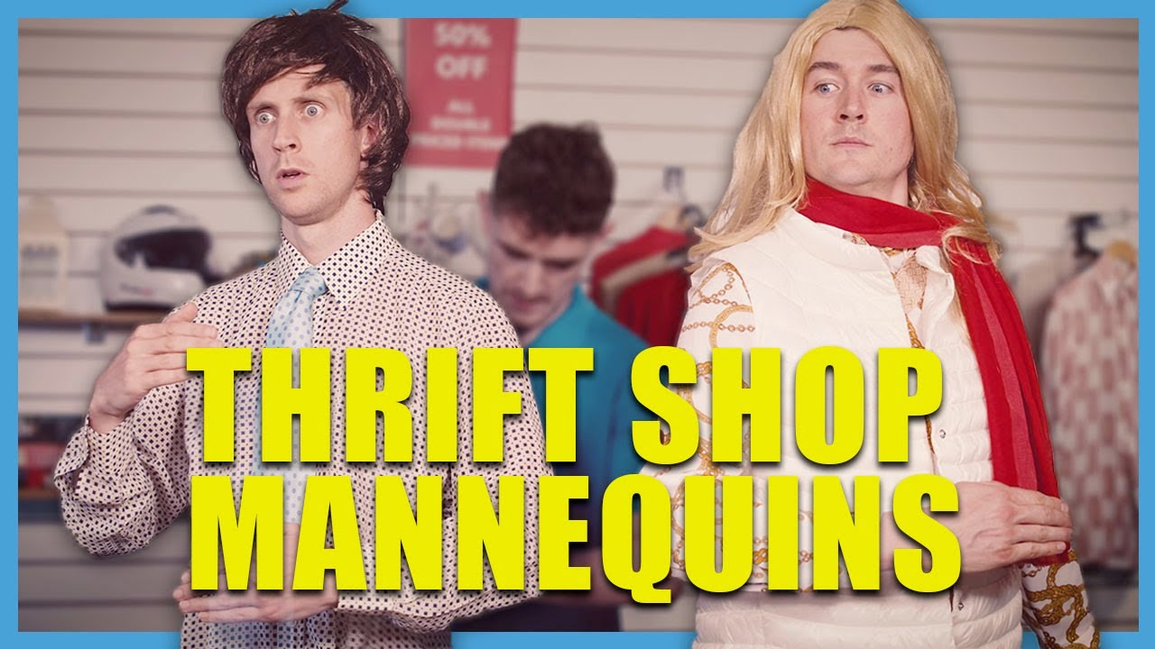 Thrift Shop Mannequins | Foil Arms and Hog