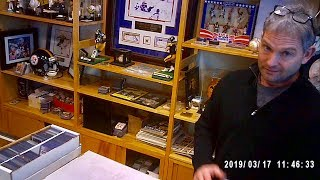 THE MOST INTERESTING BASEBALL CARD SHOP OWNER AND STORE!