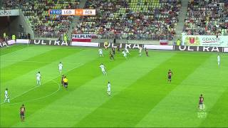 Lechia Gdask vs  FC Barcelona 1 half full HD 30-07-2013