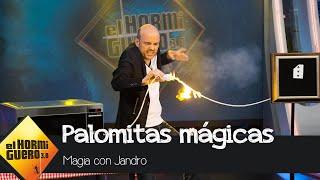 Jandro sorprende a Luis Tosar con una magia llena de palomitas - El Hormiguero 3.0