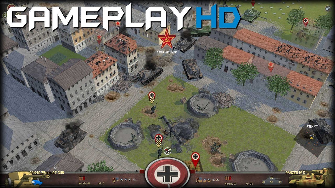 battle academy 2 eastern front gameplay pc hd youtube. Black Bedroom Furniture Sets. Home Design Ideas