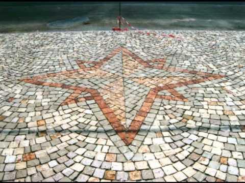 Plm pavimenti per esterni in pietra in sampietrini con disegni in