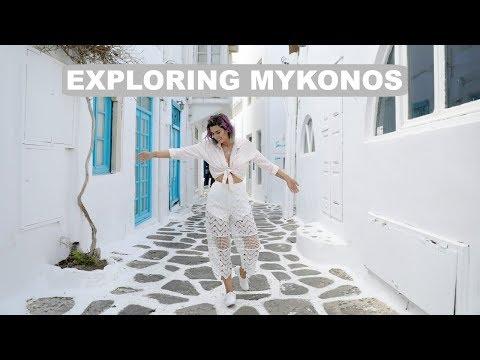 Exploring Greece- Mykonos!!