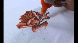 Rosas em pontilhismo – Parte 1