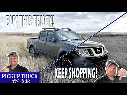 5 Good/Bad Things, 2020 Nissan Frontier PRO-4X