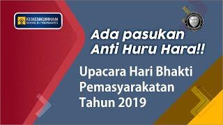 Upacara Hari Bhakti Pemasyarakatan Ke-55 di Lingkungan Kanwil Kemenkumham Daerah Istimewa Yogyakarta