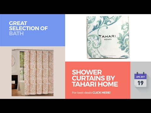 Shower Curtains By Tahari Home Great Selection Of Bath Products