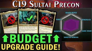 Sultai Morph Precon Upgrade Guide I C19 I The Command Zone #281 I Magic: the Gathering EDH