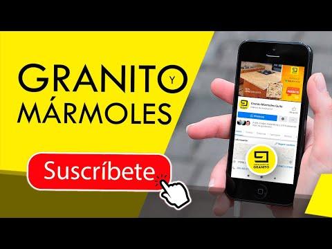 Como Pegar Granito Meson Cocina Cemento Cel 0984033736 Youtube