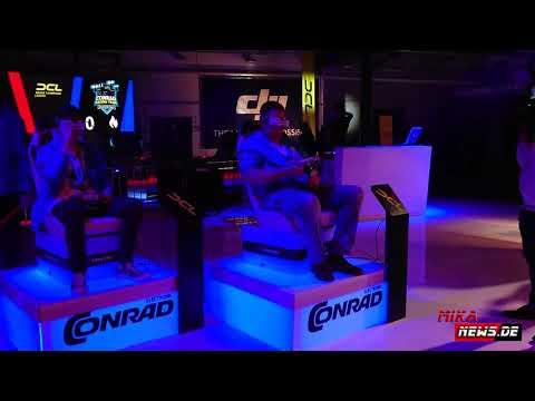 DCL Finale in Berlin beim Conrad Event   Drone Champions League zu Gast in der Station