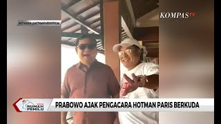 Prabowo Ajak Pengacara Hotman Paris Berkuda