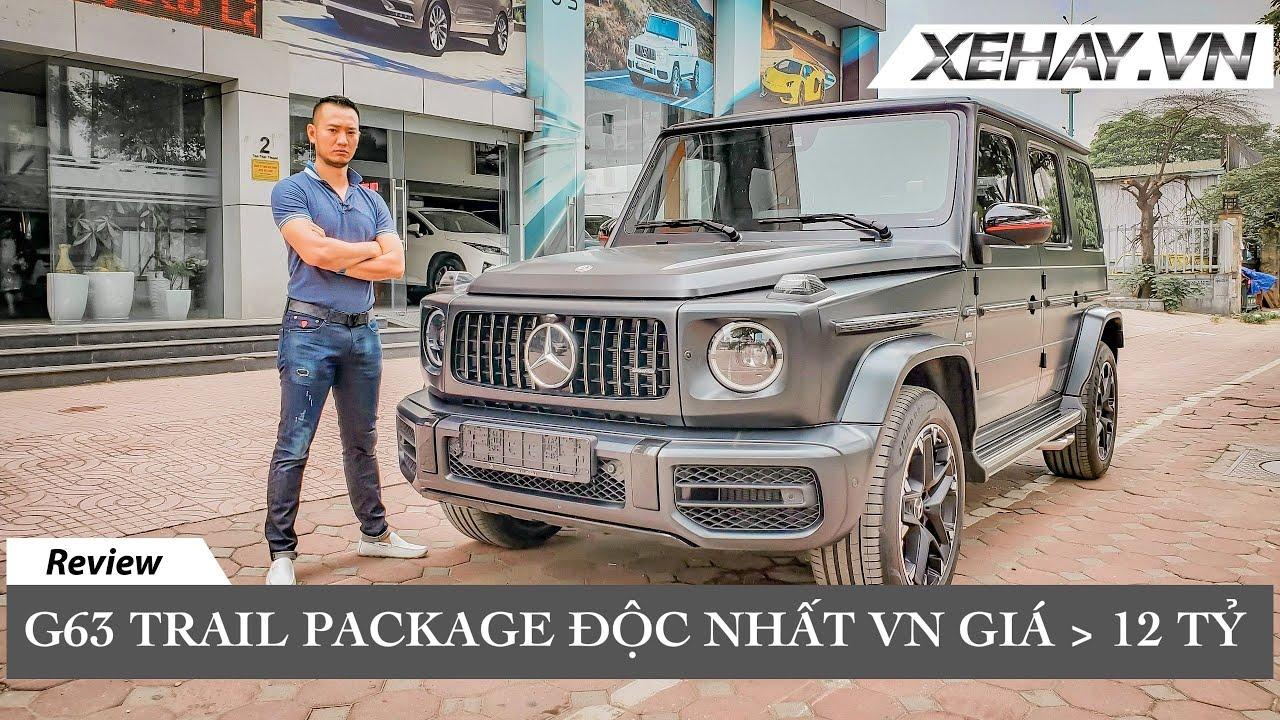 Trên 12 tỷ chiếc G63 Trail Package độc nhất Việt Nam |XEHAY.VN|
