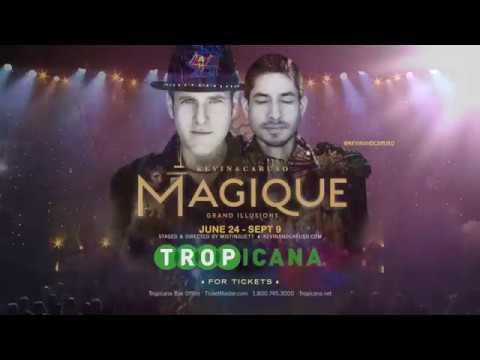 Magique: Grand Illusions at Tropicana Atlantic City Summer 2018 thumbnail